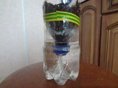 Горшки из пластиковых бутылок